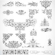 85 vintage vector ornaments extravectors free vectors