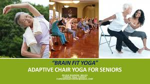 Armchair Yoga For Seniors Brain Fit Yoga Adaptive Chair Yoga For Seniors U2014 Elevate Yoga Center
