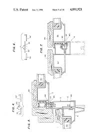Peachtree Doors And Windows Parts by Patent Us4891921 Sliding Door Assembly With Weather Seal