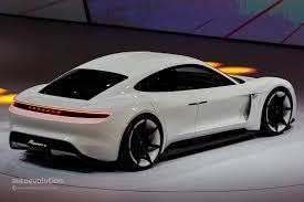 porsche models porsche wants its mission e production model to mop the floor with