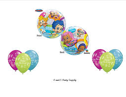 amazon com bubble guppies birthday party balloons decorations
