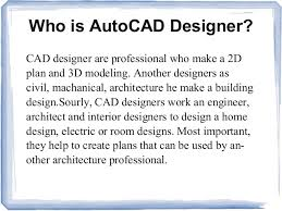 How To Make A Building Plan In Autocad by Autocad Architecture