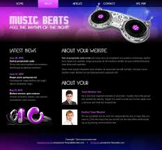 download layout html5 css3 free html5 css3 template music