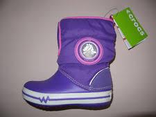crocs light up boots crocs boots for girls ebay