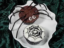 spider cupcakes for halloween vegan baking up high