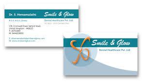 Dental Business Card Designs Print Design Rosas Designs
