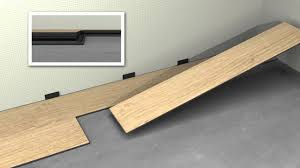 Uniclic Laminate Flooring Uniclic Lvt Youtube