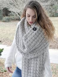 crochet wrap crochet pattern chunky blanket scarf crochet wrap or shawl