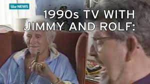 Jimmy Savile Meme - footage emerges showing rolf harris and jimmy savile joking we go