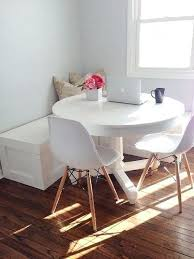 small dining table for two cozy small home via coco lapine design
