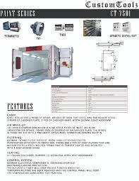 Spray Booth Ventilation System Spray Booths U2013 Customtoolz Inc