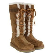 ugg boots womens tularosa chestnut lace up ugg tularosa chestnut boots ugg australia polyvore