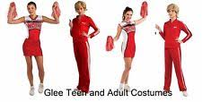 Halloween Costumes Cheerleaders Glee Cheerleading Costume Ebay