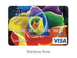 wildlife treasury cards designer debit cards union bank trust
