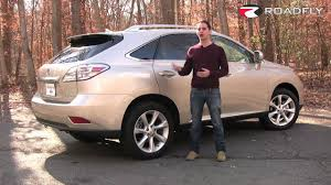 lexus rx 450h vs infiniti fx35 roadfly com 2011 lexus rx 350 suv road test u0026 review youtube