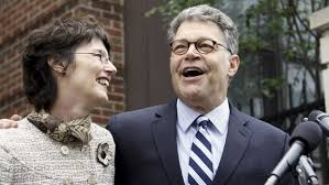 senators wife how the left used al franken to bash president trump after initially