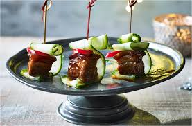 dining canapes recipes 10 best canapés festive food tesco food