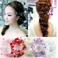 chain headband aliexpress buy 6 pcs pearls chain headband women
