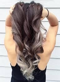 silver brown hair hair style fashion