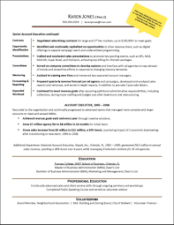 good resume for accounts executive responsibilities for marketing workshopr cv exle resume ideas collection professional
