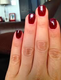 gelish nail polish red images