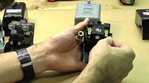 how to adjust and wire a pressure switch youtube