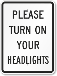 Turn Lights On Turn Your Lights On For Your Safety The Kharkiv Times