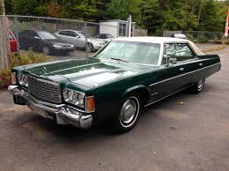 curbside classic 1975 chrysler newport custom u2013 a new yorker in