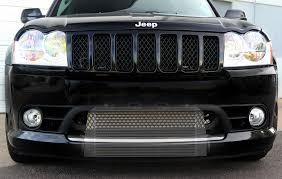slammed jeep grand cherokee you all asked for it we listened procharger race intercooler