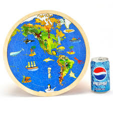 World Map Puzzles by Aliexpress Com Buy 30 30cm Wooden World Map 3d Puzzles Duplex