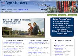 custom research paper writing services papermasters com review of legit writings services at papermasters papermasters com rating