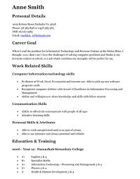 Resumes For Teenagers Teenage Resume Example Simple Examples Of Resumes Human Resources
