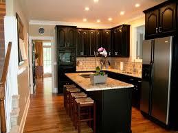 kitchen backsplash dark cabinets kitchen contemporary kitchen backsplash ideas with dark cabinets