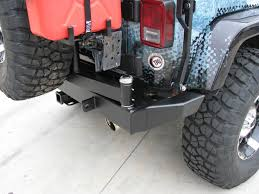 jeep rear bumper with tire carrier garvin g2 series rear bumper u0026 tire carrier system 07 11 jeep