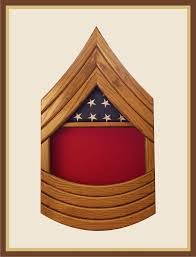 Triangle Flag Case 3 X 5 Retirement Flag Case Woodknot Woodworks