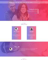 template photoshop para sites de loja de casamento