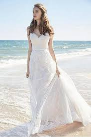 spaghetti wedding dress chic lace spaghetti straps wedding dresses
