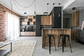 industrial modern design industrial modern apartment in vilnius lithuania