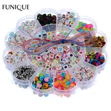 beads bracelet kit images Funique kid beads kit set findings for jewelry making girl toy mix jpg