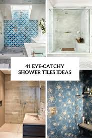 bathroom tile ideas 41 cool and eye catchy bathroom shower tile ideas digsdigs
