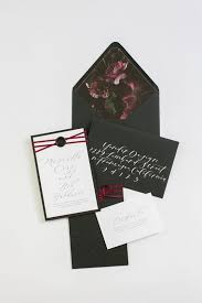 and black wedding invitations 28 trendy moody wedding stationery ideas weddingomania