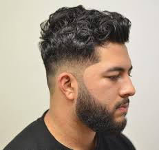 hairstyles for curly haired square jawed men beautiful hairstyles for men with curly hair images styles