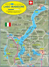 Best Of The Italian Lakes by Map Of Lake Maggiore Lago Maggiore Italy Switzerland Map In