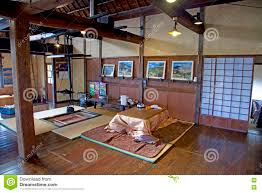 old traditional japanese house interior editorial photo image