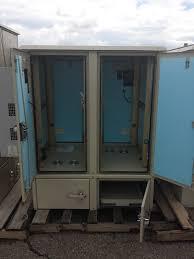 Surplus Cabinets 2 Bay Ddb Equipment Cabinets Usedshelter Com Used Telecom