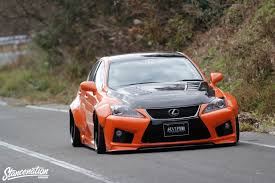 lexus sports car isf closer look at vip gt is f by aimgain stancenation form