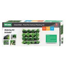 greenwall u2013 pixel pot vertical planting kit holman industries