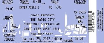 radio city christmas spectacular tickets file new york radio city ticket 4832 jpg wikimedia