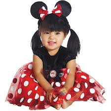 Newborn Halloween Costumes 0 3 Months Red Minnie Mouse Infant Halloween Costume Walmart