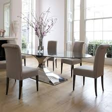 upholstered dining room sets dining room sets with fabric chairs home interior decor ideas